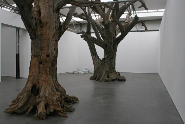 Chinese kunst en cultuur - Een houten boom maken ...